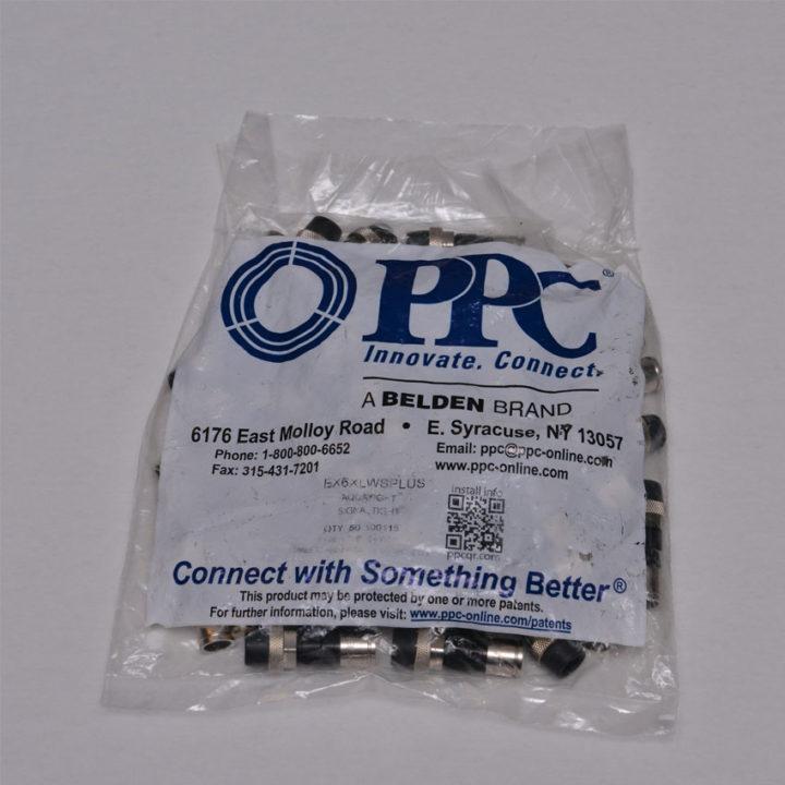 PPC EX6XLWS PLUS Compression Connectors Coaxial