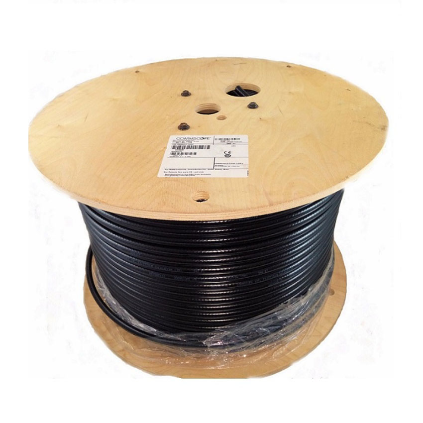 CommScope RG11 F1177TSVM XP Tri-Shield Messenger Coaxial Cable 1000ft