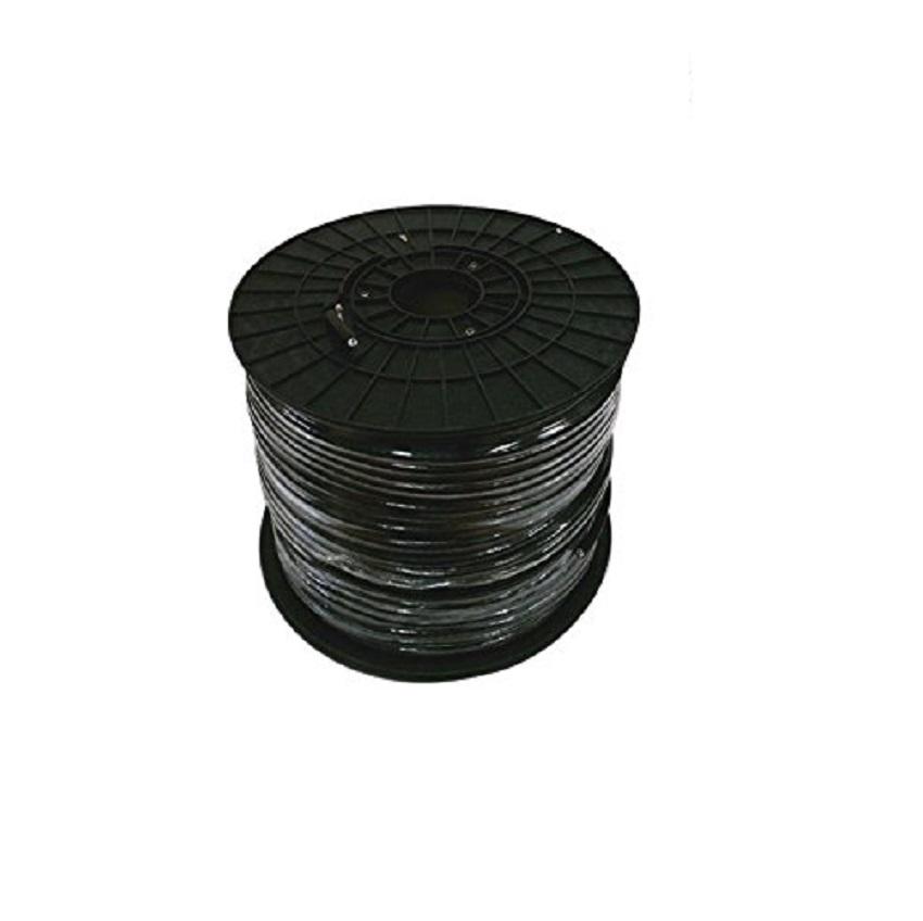 PPC RG6 P6ET77VVRF Black Coaxial Cable