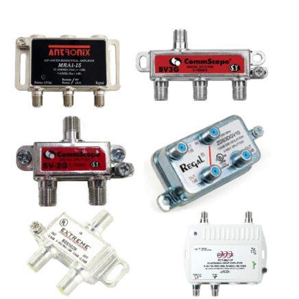 Splitters & Amplifiers