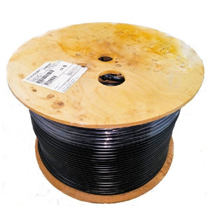CommScope RG11 F1177TSEF XP Black Flooded Coaxial Cable