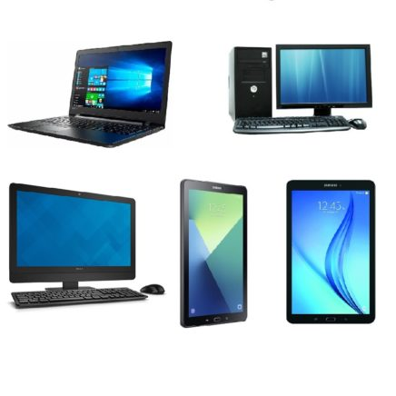 Computers, Laptops & Tablets