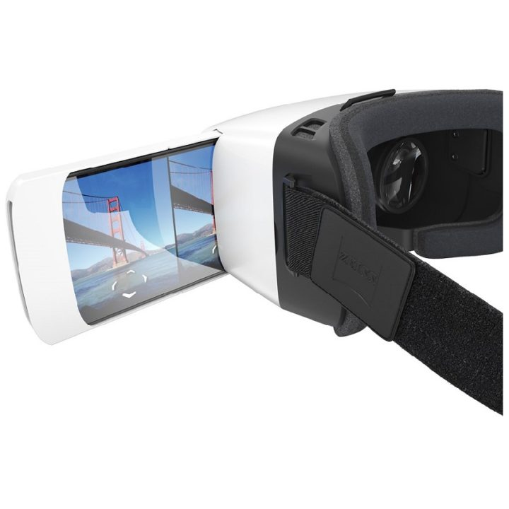 ZEISS VR One Plus Virtual Reality Smartphone Headset White
