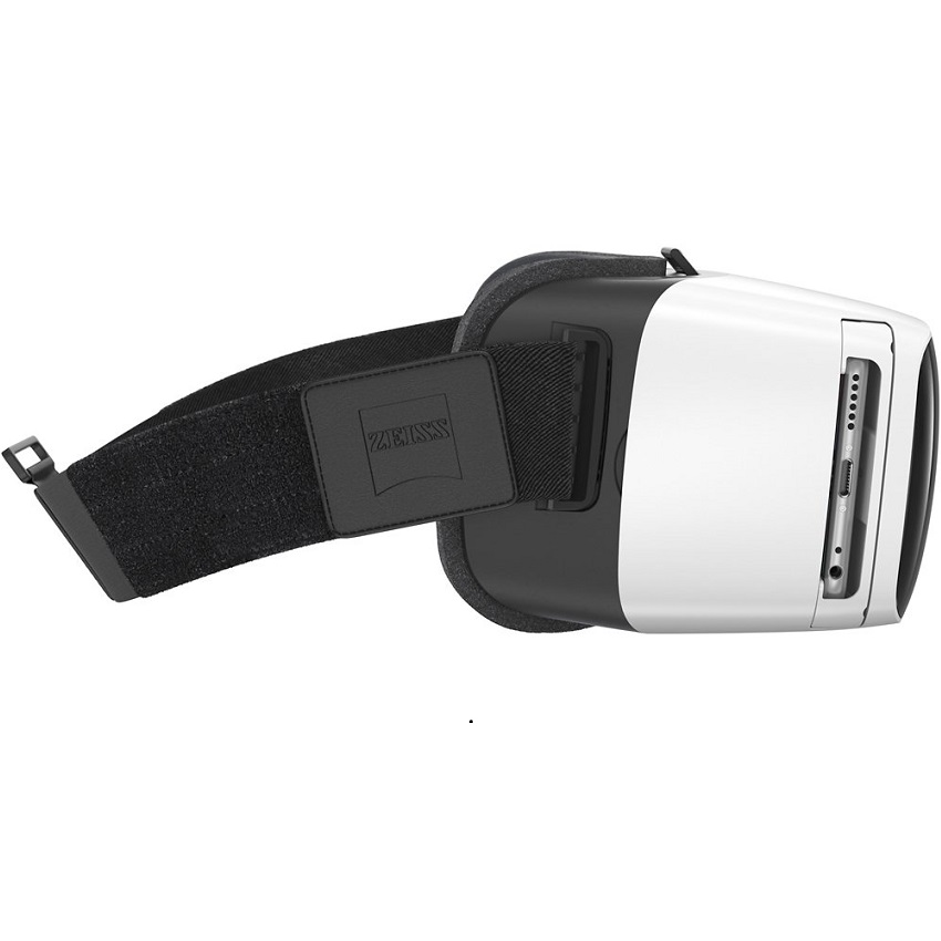 Zeiss Vr One Plus Virtual Reality Smartphone Headset White Sedectro